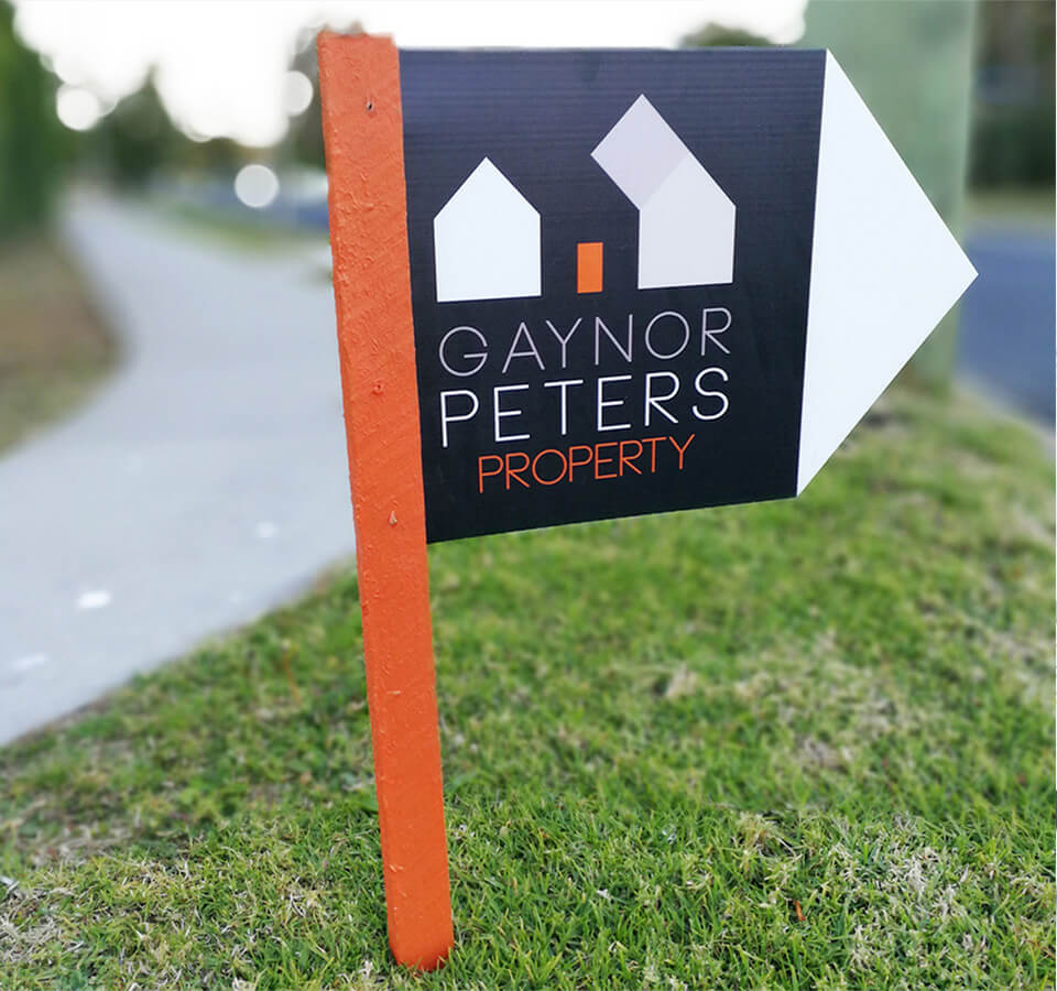 Gaynor Peters Property Sign